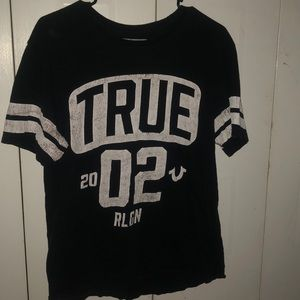 True religion baseball tee